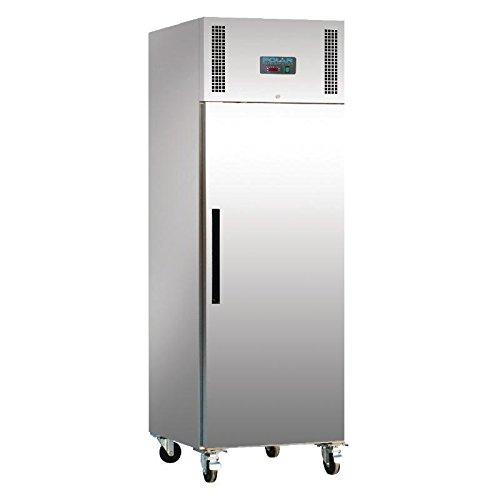 31aDr9ALHrL. SS500  - Polar Single Door Freezer Stainless Steel 600Ltr Restaurant Catering Commercial
