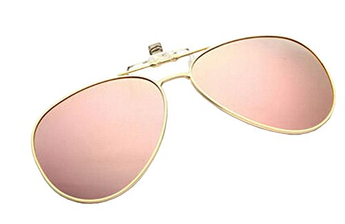 Black Temptation Leichte Clip-On Sonnenbrillen Objektive Fahren im Freien [Color-5]