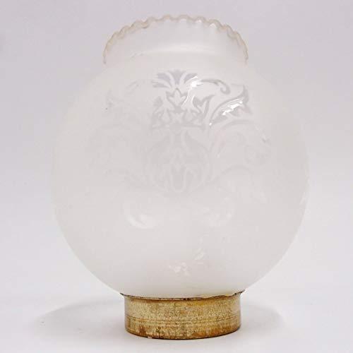 Lampenschirm 130 110 45 mm Glas Windlicht Zylinder Ersatzglas alt Petroleumlampe