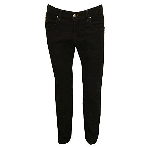 CNC Kostüm National Gebürstet Jeans Slim Fit Herren Jeans, Marine 32 Zoll