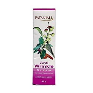 PATANJALI Anti Wrinkle Cream (50g) - Pack of 2