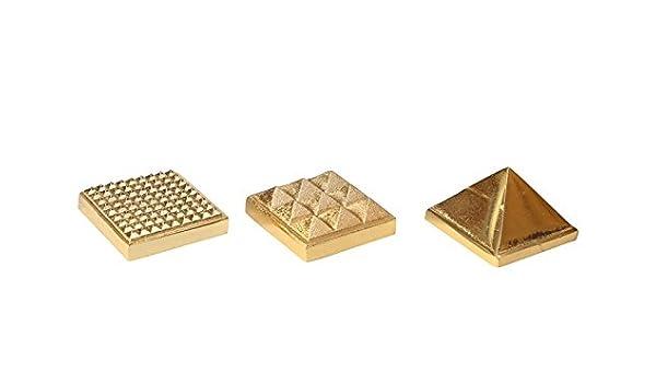 Buy Ananki Gold Plated Energized Metal 81 Vastu Pyramid