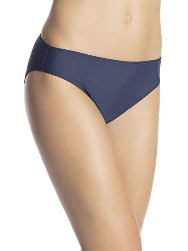 ESPRIT Damen Ocean Beach AY Classic solid Bikinihose, Blau (Navy 400), (Herstellergröße:46)