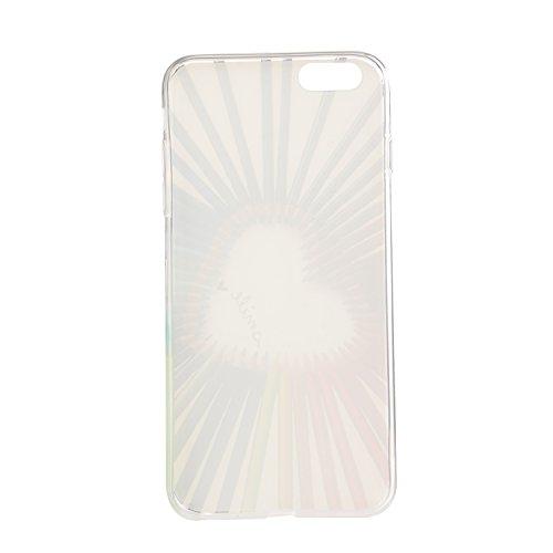 TPU für Smartphone Apple iPhone 6 (4.7 Zoll) Design Pattern Carving Relief Schutzhülle Schutz Hülle - Case in einzigartigem Design – Aus weichem TPU dünn - Schützt vor Schmutz und Kratzern +Staubsteck 5
