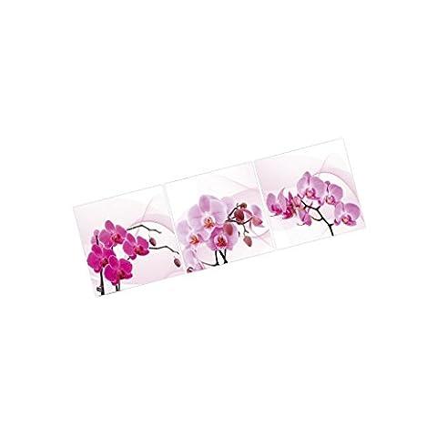 3 Parties Tableau Impression Sur Toile Images Photo Pivoine Fleur Décoration Murale Bureau Maison - 48 X