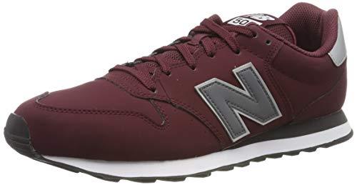 New Balance 500, Zapatillas para Hombre, Rojo (Burgundy Burgundy), 40.5 EU