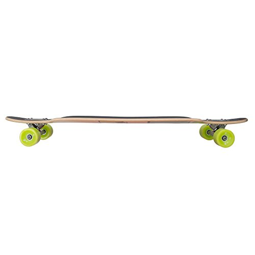 Apollo Longboard Tonga Special Edition Komplettboard mit High Speed ABEC Kugellagern inkl. Skate T-Tool, Drop Through Freeride Skaten Cruiser Boards -