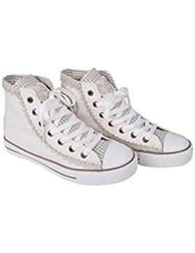 Krüger - Damen Trachtenschuhe, Sneaker Cream Dream (Artikelnummer: 4122-2)
