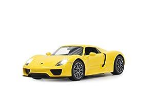Jamara - 404579 - Porsche 918 Spyder - 40 MHz - 1/14 Escala - Amarillo