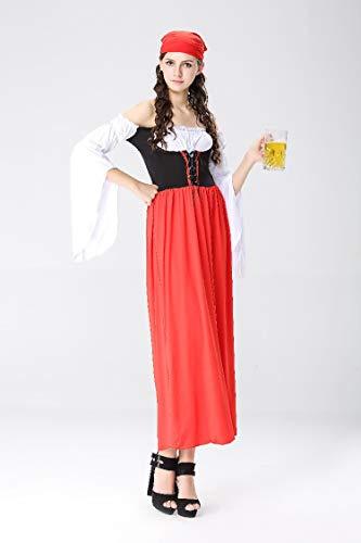 Halloween Kostüm,Halloween Kostüme, Oktoberfest, Bier, Kleidung, Dienstmädchen, Dienstmädchen, Traditionelle Bayerische Kleidung, Stil 1, L