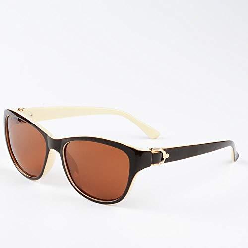 ZHOUYF Sonnenbrille Fahrerbrille Polarisierte Sonnenbrille Damen Und Frauen Elegante Sonnenbrille Weibliche Fahrbrille, B