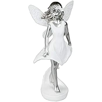 KLP Elfe Fee Einhorn Blumen Fairy Deko Figur Mystik