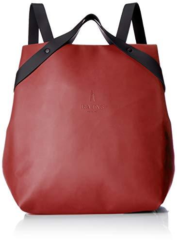 Rains shift bag, zaino unisex-adulto, rosso scarlatto, 32.0x36.0x12.0 cm (w x h x l)