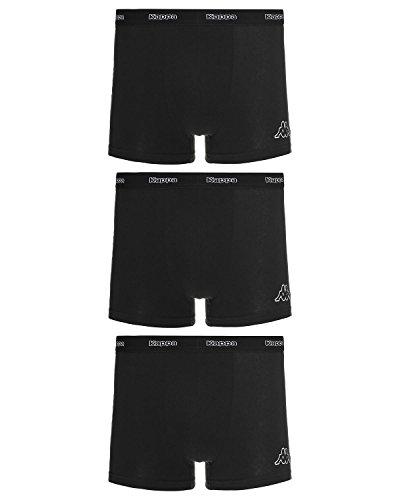 Preisvergleich Produktbild Kappa Boxer Shorts Skin Molum 6er Pack Schwarz M
