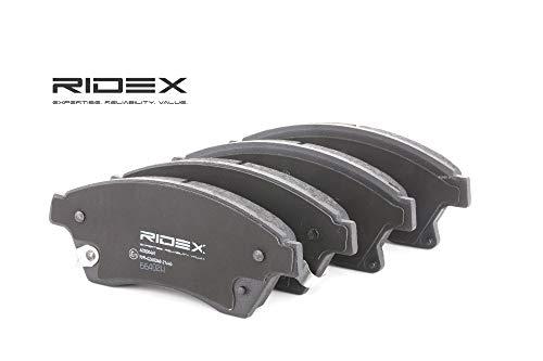 Ridex 402B0461 - Kit pastiglie freno a disco