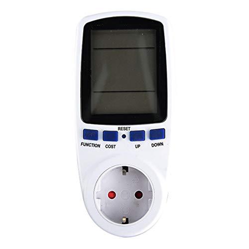 Heaviesk Plug-in Stromzähler Steckdose Digitale Spannung Wattmeter Stromverbrauch Watt Energiezähler AC Electricity Analyzer Monitor