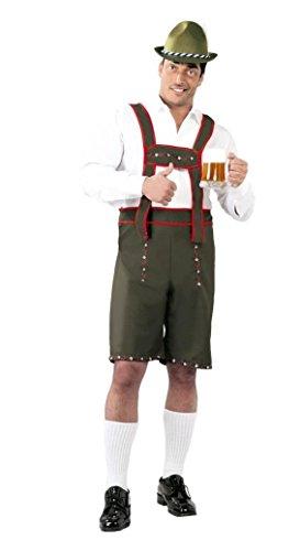 Costume Tirolese Uomo - Taglia Unica (solo Salopette)