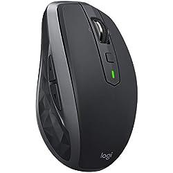 Logitech MX Anywhere 2S Mouse Wireless, Unifying e Bluetooth per Mac e Windows, Grafite