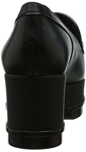 Robert Clergerie Yokolej Damen Slipper Schwarz - Noir (Veau Lisse Noir)