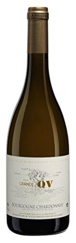 GRANDE QV Beaujolais Vin Blanc Sec AOC Bourgogne Chardonnay 2016 75 cl - Lot de 6