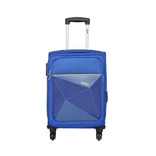 Safari Polyester 77 cms Blue Softsided Check-in Luggage (PRISMA754WBLU)