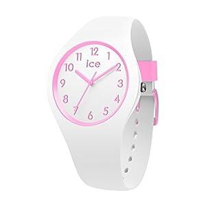 Ice-Watch – Ice Ola kids Candy white – Weiße Mädchenuhr mit Silikonarmband – 014426 (Small)