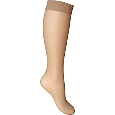 Gipsy Sheer Smooth Knit Knee High Socks 2 Pair Pack