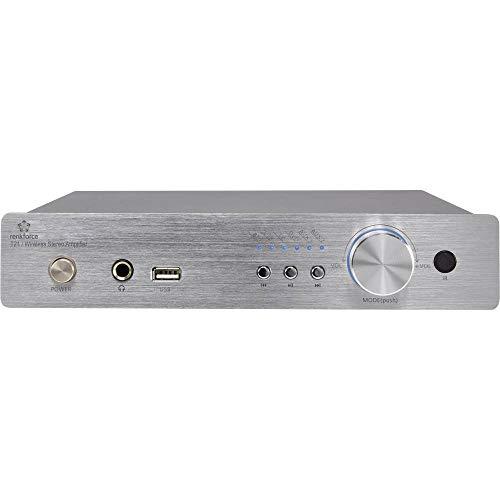 Renkforce T21 Stereo-Verstärker 2 x 50 W Aluminium Bluetooth®, USB