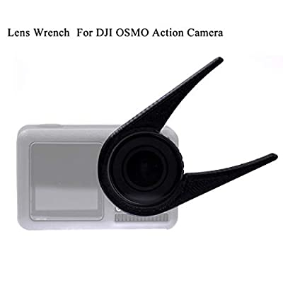 SHSH Camera Lens Filter Installation Removal Wrench Tool, Non-Slip Rubber Poket Accessories For DJI OSMO Action Camera
