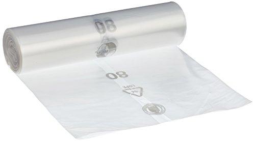 Sacs poubelle DEISS Premium, Blanc ou transparent, 70 ou 120 l, 70 Liter - Typ 60, transparent, 1