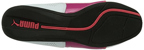 Puma Drift Cat 6 Diamonds Mädchen Sneakers Weiß (white-fuchsia purple 01)