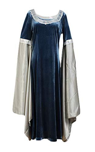 RedJade Arwen Chase Herr der Ringe Traveling Kleid Cosplay Kostüm Damen S (Arwen Kleid Erwachsene Kostüme)