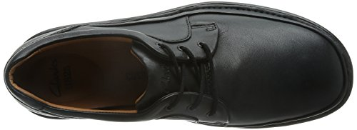 Clarks Herren Butleigh Edge Derby Black Leather