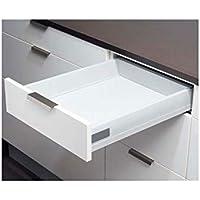 Côté de tiroir double paroi hauteur 83 - Conditionnement : Individuel - Charge : 35 kg - Décor : Anthracite - Longueur…