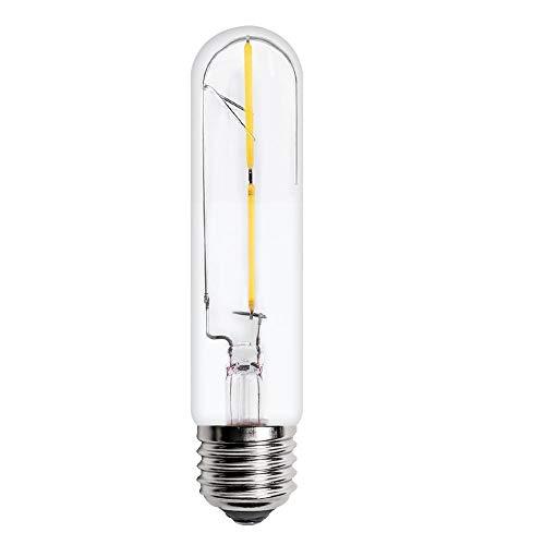 T10 Licht Birne (Amerikanischen Stil Nachttischlampe Antike Wandleuchte Einzelkopf E27 Lichter Birne Glas Industrie Eisen Vintage Mode Wohnzimmer Bar Lampe, T10 Led 2 Watt)