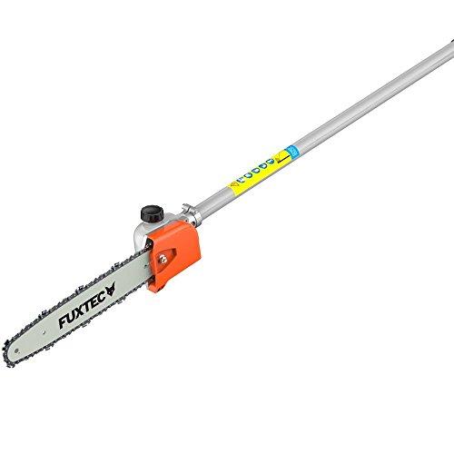 Astsägenaufsatz Hochentaster mit Schwert+Kette 9-Zahn für FUXTEC Multitool-Systeme FX-MS152, FX-MT152, FX-MT152E -