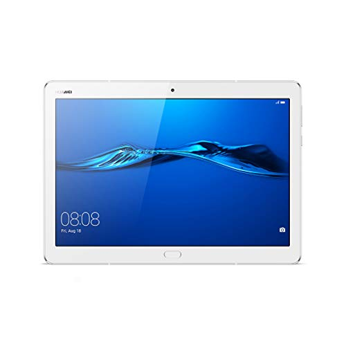 "Huawei Mediapad M3 Lite Tablet LTE CAT4, Display 10"", CPU Qualcomm MSM8940, Octa-Core, Memoria RAM 3 GB, ROM 32 GB, Bianco"