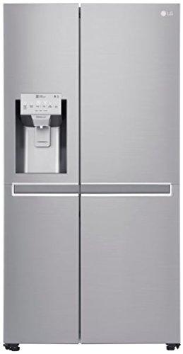 LG Electronics GSL 961 NEBF Side-by-Side / A+++ / 179 cm / 251 kWh/Jahr / 405 L Kühlteil / 196 L Gefrierteil / Inverter Linear Kompressor / No Frost / edelstahl (Lg Kompressor-kühlschrank)