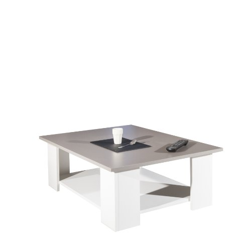 Table Basse-Blanche-Plateau taupe/2082A2191X00