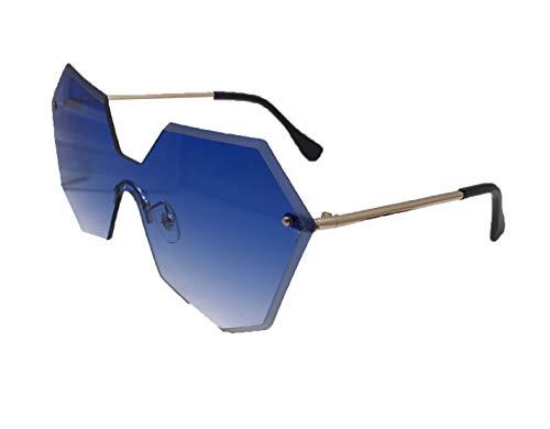 Wikibird Sonnenbrille Gestell Metall Brille Unisex Zubehör Liner Anti Reflex Eyewear Blendschutzbehandlung Steampunk