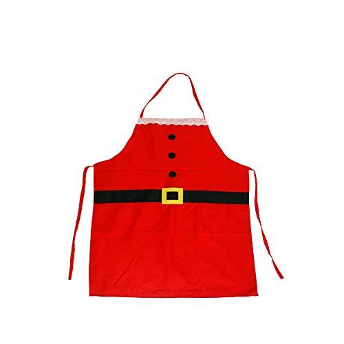 TrifyCore 1PC Weihnachten Küche Kinder Schürze Niedliche Kochen Grillen Schürze Lustige kreative Danksagungs