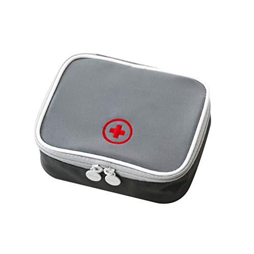 31aFhOo2viL - LeobooseMini Bolsa de botiquín de primeros auxilios para viaje al aire libre Paquete de medicina portátil Bolsas de equipo de emergencia Bolsa de almacenamiento de pastillas Pequeño organizador