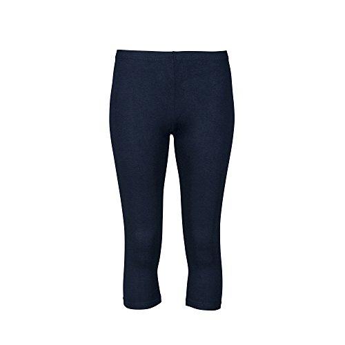 Love Lola Damen Leggings, Einfarbig Blau Marineblau 10 (Zumba Höschen)