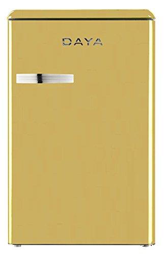 Daya dftv-114htc Kühlschrank frigobar Mini Kühlbox Vintage Daya Kapazität 114LT Creme Energie A +