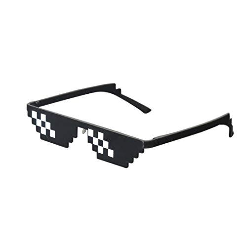 aa0b36ce27 Best-Bag Cool Thug Life Glasses Black 8 Bit Pixel Funny Sunglasses  Amusement Unisex Eyeglasses