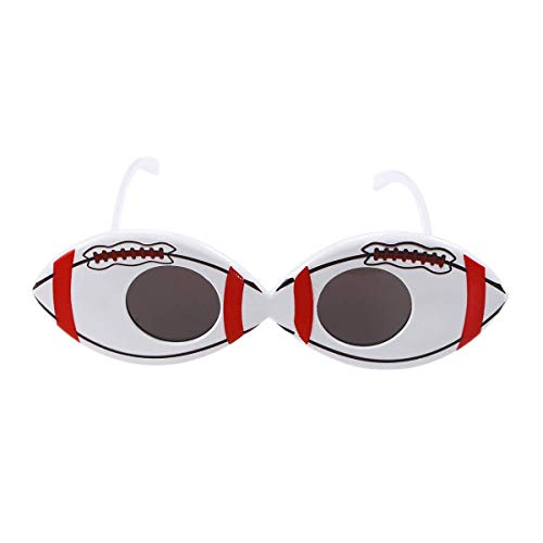 EMILF Home Fußball-geformte Sonnenbrille-Neuheit-Party-Brille-Sport-Fans Foto-Requisiten -