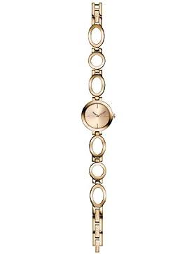 s.Oliver Damen-Armbanduhr XS Analog Quarz Edelstahl SO-2892-MQ