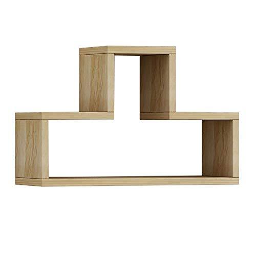 Baif mempers mensola a muro, libreria sospesa a parete, soggiorno tv sfondo cornice per pareti, cornice rettangolare per camera da letto (design: sezione c)