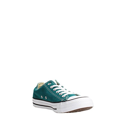 Converse All Star Ox Canvas Seasonal, Sneaker, Unisex - adulto VERDE SCURO
