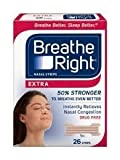 Breathe Right Nasal Strips, Extra, 26-Count Box (3 Pack) by Breathe Right (English Manual)